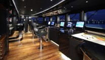 Luxury yacht Talisman C Wheelhouse